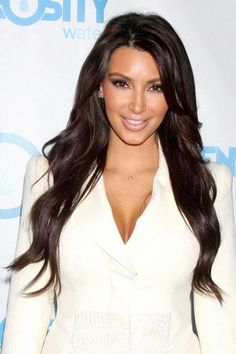 Say what you want....i admire Kim K. She works hard for what she has, and she's drop dead gorg! <3