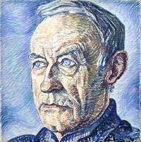 Portrait d'homme, Jo (van Hattem) Koster