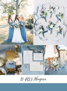 Niagara Blue Wedding Inspiration Board