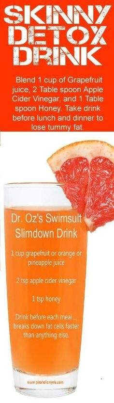 Skinny Detox Drink For Weight Loss