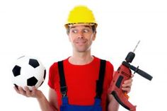 Tradespeople shake off stereotypes by choosing work over World Cup