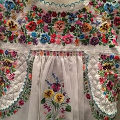 """Hand-embroidered Mexican blouse. Camila buys one of these to take home to Maria in """"Border Affair."""""""