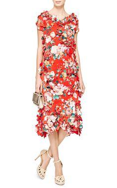 Mad Flower Sheath Dress by Simone Rocha - Moda Operandi