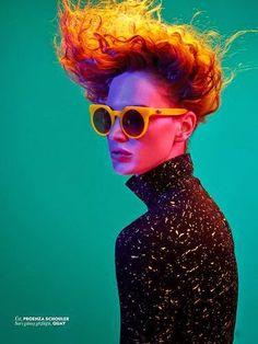 """Rave"" Crista Cober by Cuneyt Akeroglu for Vogue Turkey September 2014"