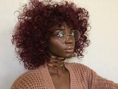 Make-up: red hair, dark skin, melanin - Wheretoget