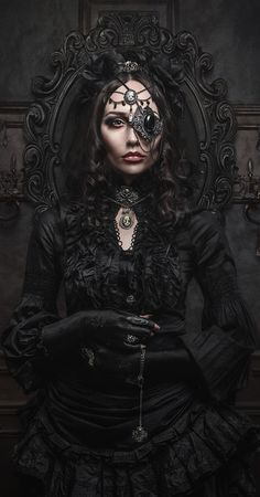 Or steampunk goth princess for the ren faire. 8th grade me would be in heaven.