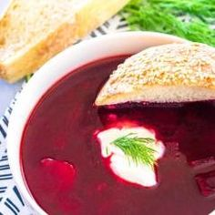 Hypoallergenic Pet Dog Food Items Diet Program Polish Beet Soup, Barszcz Or Borscht, Is An Easy And Delicious Vegetable-Packed Soup That Is Bright In Color And Flavor Your Family Will Love This Sweet And Sour Soup. Beet Borscht, Beetroot Soup, Beet Recipes, Polish Recipes, Cooking Recipes, Cooking Stuff, Healthy Recipes, Smoothie Recipes, Kitchens