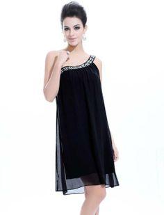 Ever Pretty Stunning Rhinestones One Shoulder Short Formal Dress 03388: Clothing