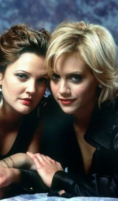 Brittany Murphy and Drew Barrymore  RIP Brittany