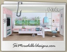 Designs 3 | TOP Quality Content For Sims Games Pétala Kids Room