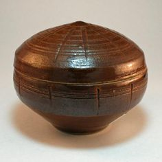 Leach Pottery, St Ives. Lidded box