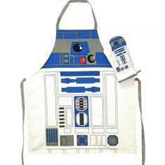 Star Wars Apron & Oven Mitt Set (R2-D2)