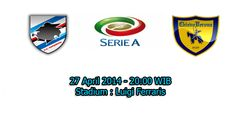 Prediksi Bola Sampdoria Vs Chievo 27 April 2014