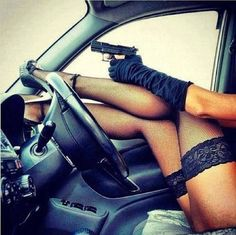 female with gun tumblr - Google Search