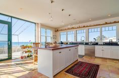 Gourmet Kitchen in our new ocean-front listing!