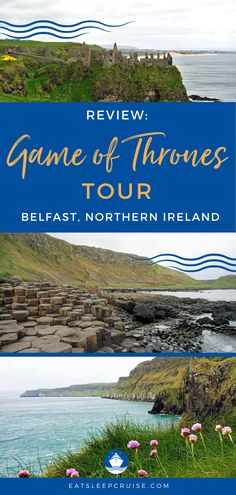Review: Game of Thrones Tour Belfast Northern Ireland   Are you planning a cruise to Belfast, Northern Ireland? Are you a GOT fan? If you answered yes to either question, then we have the cruise excursion for you! This tour includes filming locations for the show, but it is also a great way to see the countryside and other famous landmarks. If your travel includes a stop in Belfast, be sure to add this tour to your itinerary! #GameOfThrones #GOT #Belfast #NorthernIreland #CruiseVacation Best Cruise, Cruise Tips, Cruise Vacation, Vacations, Cruise Excursions, Cruise Destinations, Belfast Northern Ireland, Galway Ireland, Cork Ireland