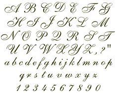 cursive+letter+stencils | Answers Individual Stencil Fancywhimsical Cursive Letters View More