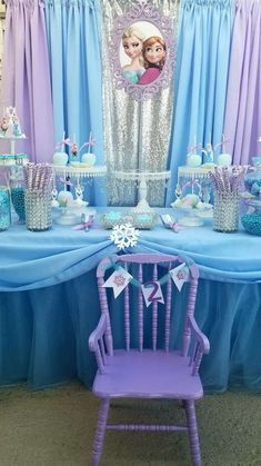 Ideas birthday party food ideas frozen for 2019 Frozen Party Favors, Frozen Themed Birthday Party, Disney Frozen Birthday, Birthday Party Decorations, Frozen Decorations, Elsa And Anna Birthday Party, 3 Year Old Birthday Party, 4th Birthday, Birthday Ideas