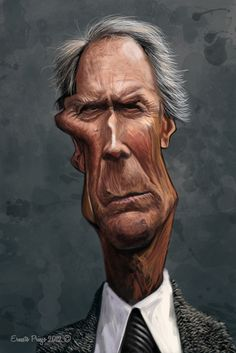 Clint Eastwood (Caricature) http://dunway.com/