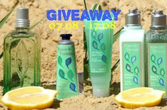 Beauty Unearthly: Giveaway by Ami Beauty Unearthly - L'Occitane Волнующая вербена Розыгрыш у Ами часть IX