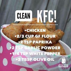 Clean KFC!