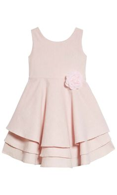 adorable tiered dress in blush for summer pictures #toddler #affiliate