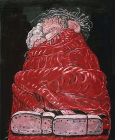 Philip Guston - Sleeping, 1977