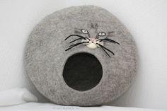 Katzenhöhle  von Filzkitty auf DaWanda.com