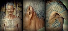 Miguel is a WWII veteran who earned most of his tattoos combating Japanese forces. He is worried that future generations of Kalinga youth wi. Best 3d Tattoos, Tattoos 3d, Tribal Tattoos, Tattoos For Guys, 3d Tattoo Artist, Tattoo Artists Near Me, Mark Tattoo, I Tattoo, Traditional Filipino Tattoo