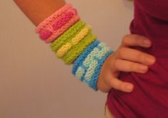 Band Cuffs - free pattern!
