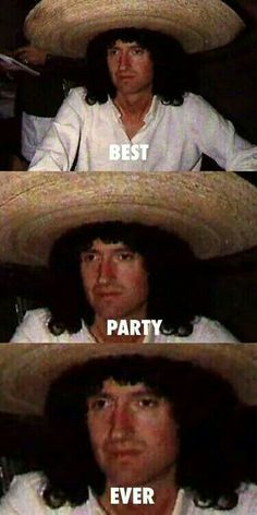 Brian May having an absolute blast Die Queen, I Am A Queen, Save The Queen, Queen Mercury, Queen Freddie Mercury, Freddie Mercury Meme, Queen Pictures, Queen Photos, Ben Hardy