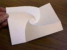Geometric Paper Folding: Dr. David Huffman.David Huffman has been creating some very complex and original folded structures. He works with both straight and curved folds, using mathematical techniques that he has developed over many years.  Mr. Huffman teaches at the University of California at Santa Cruz.