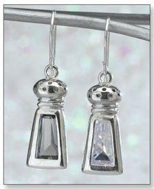 Salt & Pepper Earrings