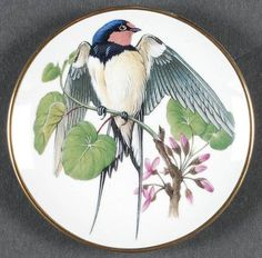 Franklin Mint Miniature Songbirds of The World: Barn Swallow