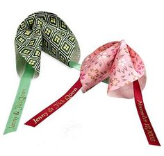 Origami Fortune Cookies - Asian Wedding Favors