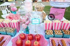 Design & Decor: Event Styling by Shawna Marie  Planning & Decor: Events & Experiences  Photography: Top Banana Photography  Cake: Layered Bake Shop  Catering: Carnival Catering