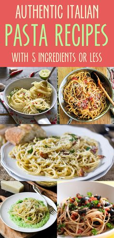 Easy and quick pasta dishes that will make your dinner guests think that these recipes were past down through generations of your family. For a healthier and a more carb friendly option use Dream Field Pasta.