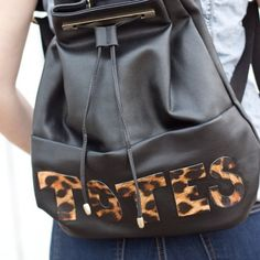 Make your own Phillip Lim-inspired 'Totes Amaze' bag quickly and affordably with only a handful of materials!