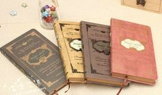Magic Spells Antique Notebook/ Diary / hard cover notebook/ European Vintage Notebook/ Korean Stationery wholesale on AliExpress.com. 6% off $64.86