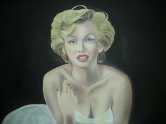 "acrylic marilyn monroe ""work in progress"" Cool Paintings, Marilyn Monroe, Sculpture, Statue, Sculptures, Sculpting, Carving, Marylin Monroe"