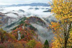 小入峠の雲海(滋賀県高島市) - Getty Images
