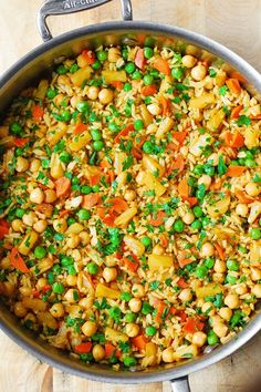 Asian-Style Fried Rice and Beans recipe