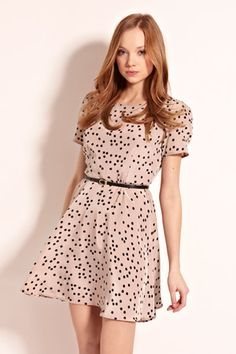 I feel like this should be my Easter dress since we're doing hints of pink with gray. yeah?