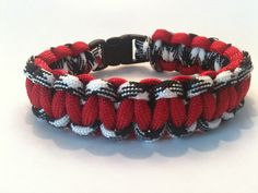 Items similar to Alabama Survival Bracelet on Etsy Paracord Bracelets, Paracord Ideas, Survival Bracelets, Survival Straps, Fundraising, Awesome Things, Trending Outfits, Alabama, Unique Jewelry