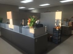 Our new customer service area