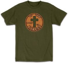 All sizes In God We Trust - Penny T-Shirt - JTbliss