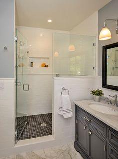 Bow to the Trees in Menlo Park Makeover - traditional - Bathroom - San Francisco - Hamilton-Gray Design, Inc.