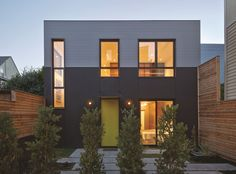 Steel house 1 + 2 of Zack de Vito architecture Residential Architecture, Contemporary Architecture, Architecture Details, Vito, Facade Design, House Design, Gaudi, San Francisco Design, Steel House