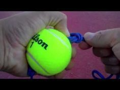 DIY Sharp Shooter Double End Ball for your boxing gym or home. This is a great tool to teach or improve your straight punches like the jab, right or left cro. Punching Bag Diy, Punching Ball, Home Made Gym, Diy Home Gym, Tennis Workout, Boxing Workout, Kickboxing Gym, Boxing Drills, Boxing Training