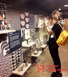 Lovely trip to the exhibition! Print Design, Projects To Try, Cooking Recipes, Design Inspiration, Baby Shower, Baseboards, Carhartt, Bookshelves, Backpack